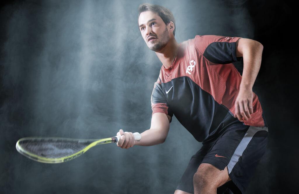 Bildbearbeitung Migros Sportpark - Squash