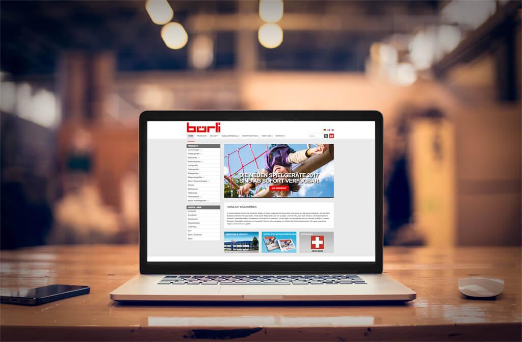 Vorschaubild Webshop Bürli AG