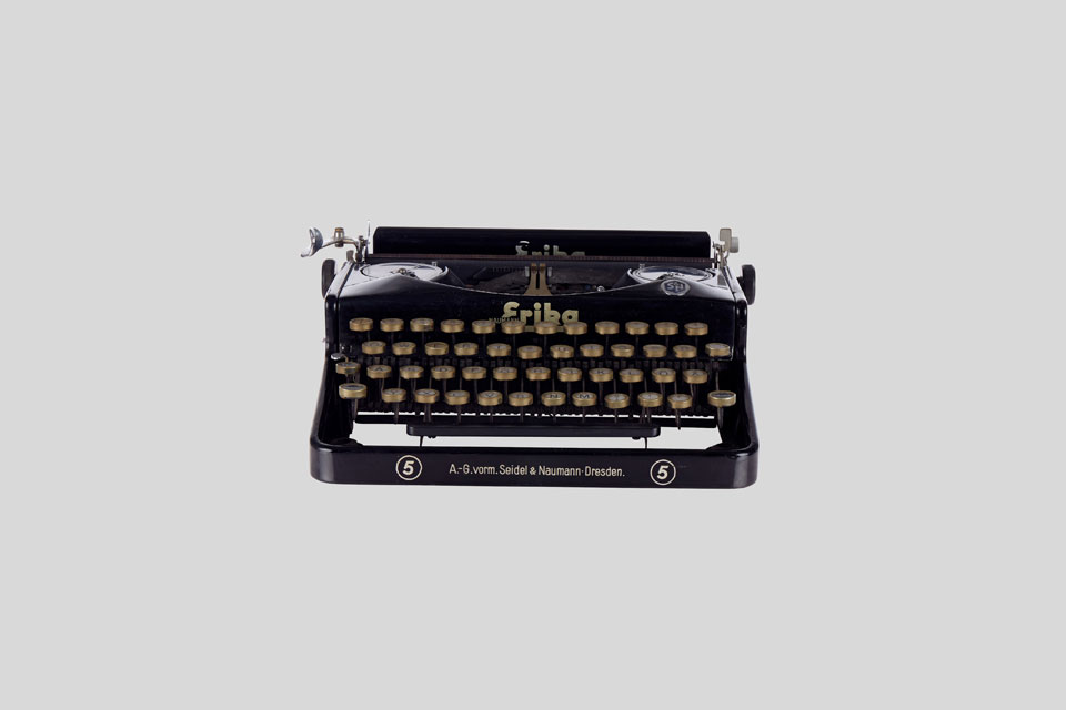 Vorschaubild 360-Grad Fotografie Schreibmaschine