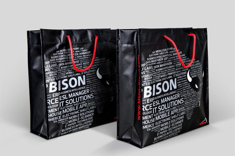 Taschendesign für Bison 01